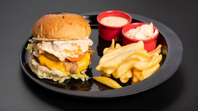 Zero burger menü