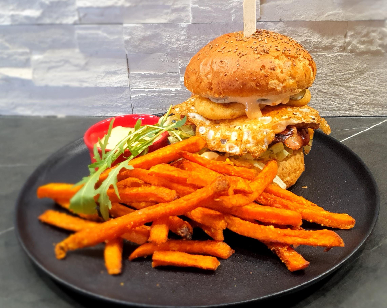 Fitt Zero burger menü