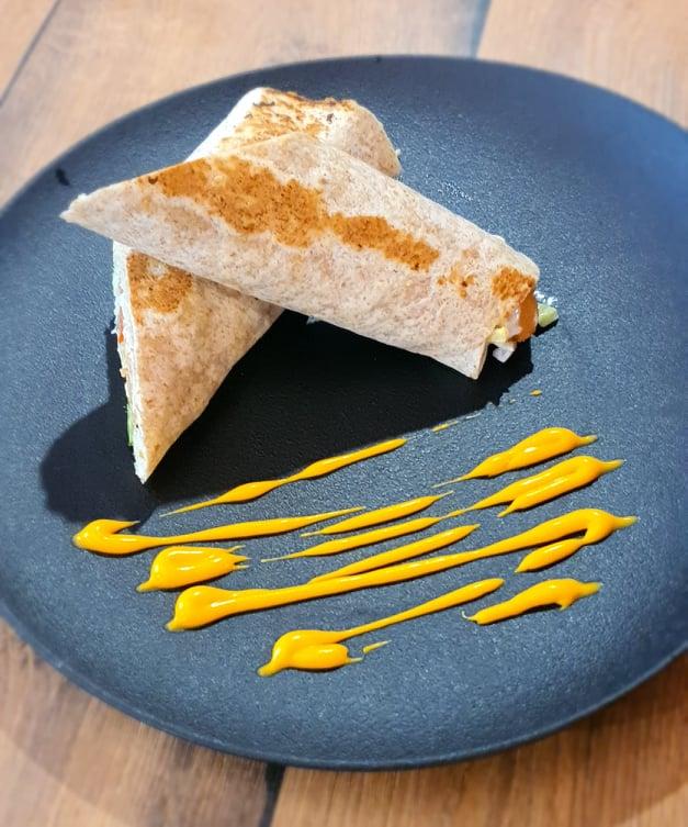 Fitt tortilla roston sült csirkével