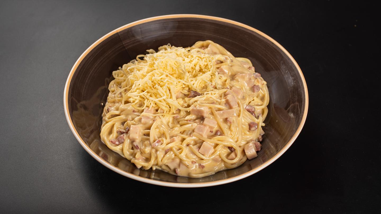 Zero carbonara spagetti